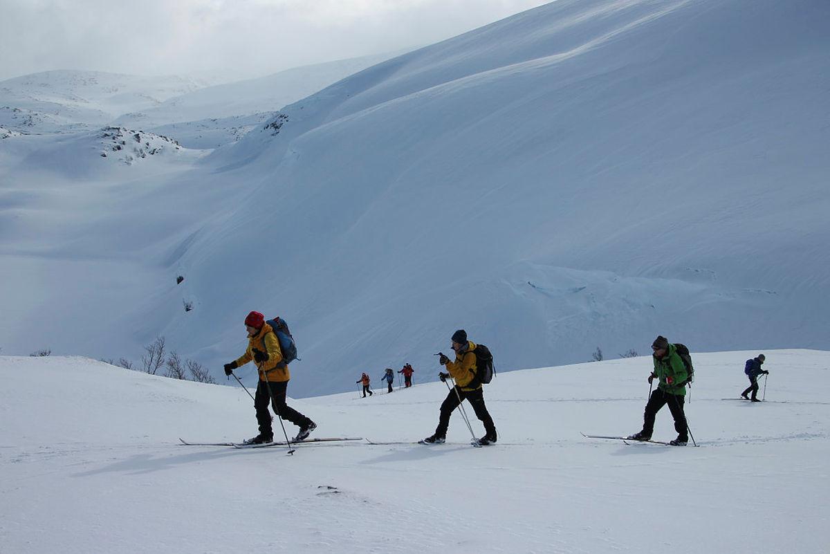 Bergsbukken 23. februar 2020.