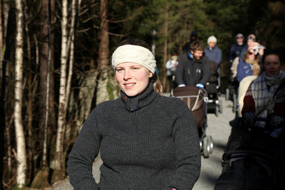 Trilletur rundt Tennebekkstjørna februar 2017.