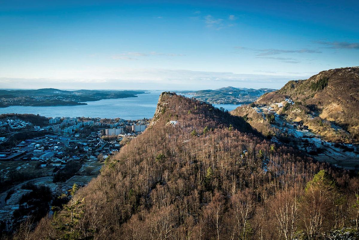 Tur til Toppenipa, Toppefjellet, Ulsetvarden og Geitanuken, 2020. Toppenipa sett fra Toppefjellet.
