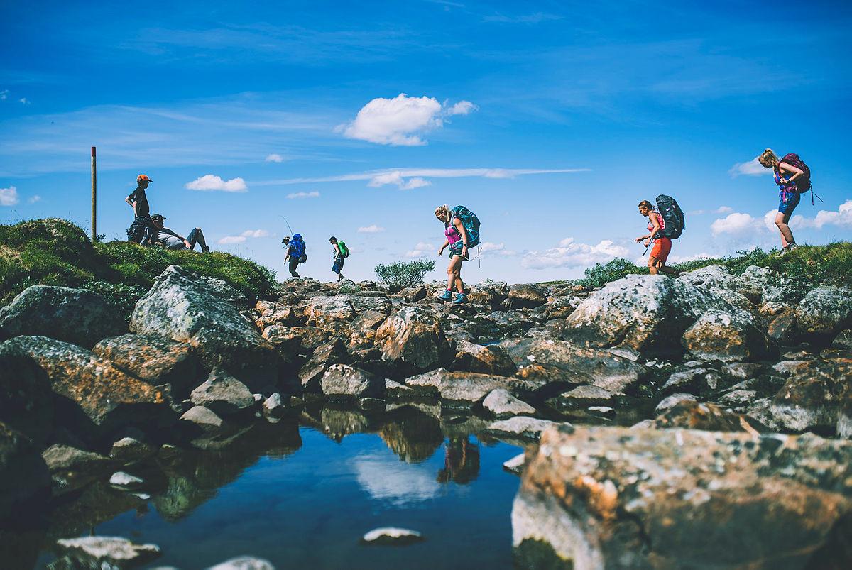 Sommer over Hardangervidda
