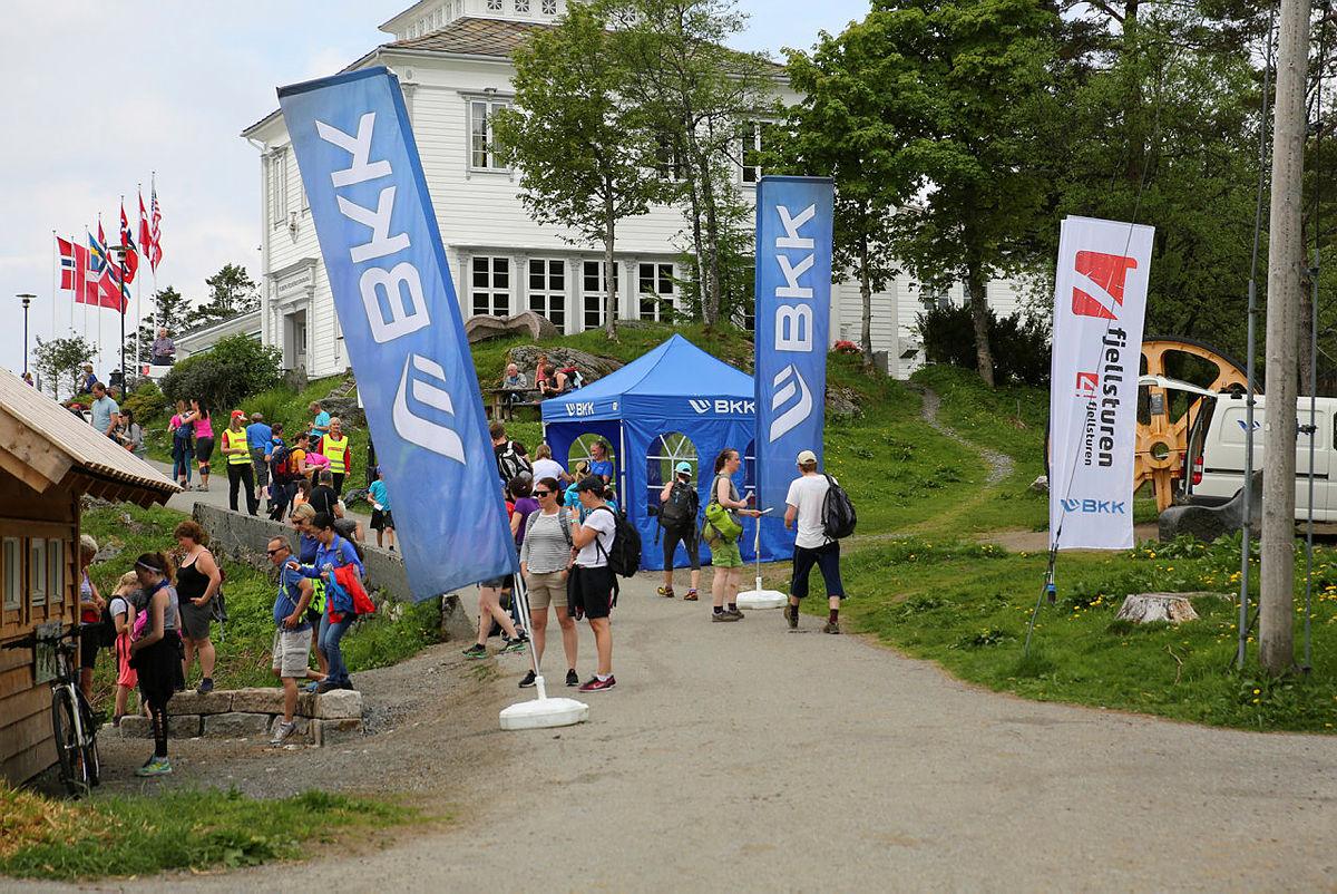 7-fjellsturen: BKK og Fløyen
