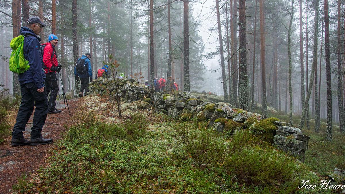 Turgruppa Ut på tur Eiker til Kjennerudvannet