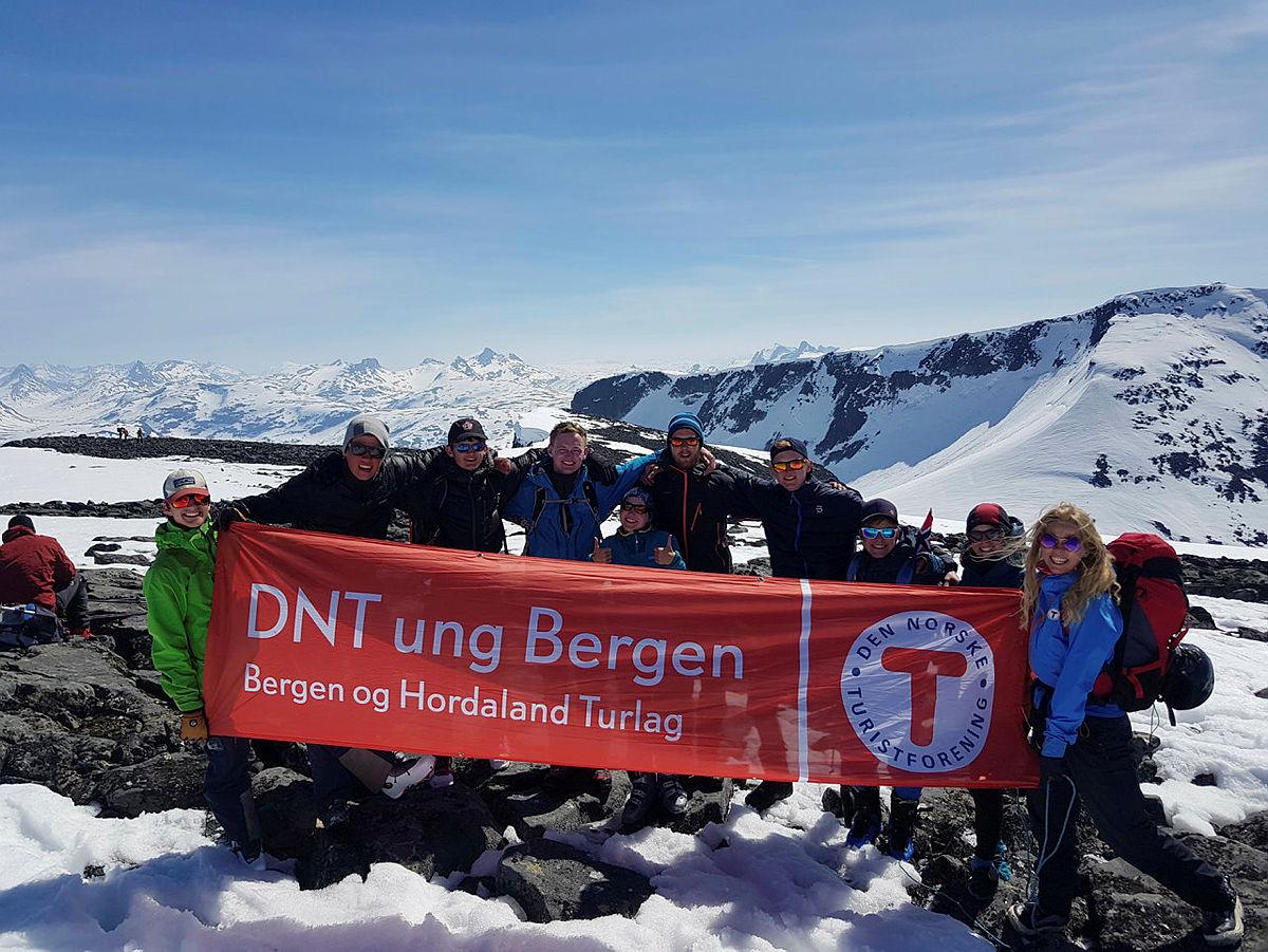 Topptur i Hurrungane med DNT ung Bergen 2018
