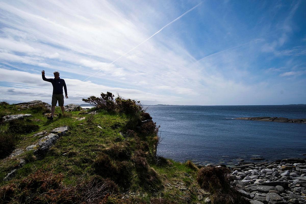 Gode muligheter for flotte utsiktsturer på Fjøløy og områdene rundt.