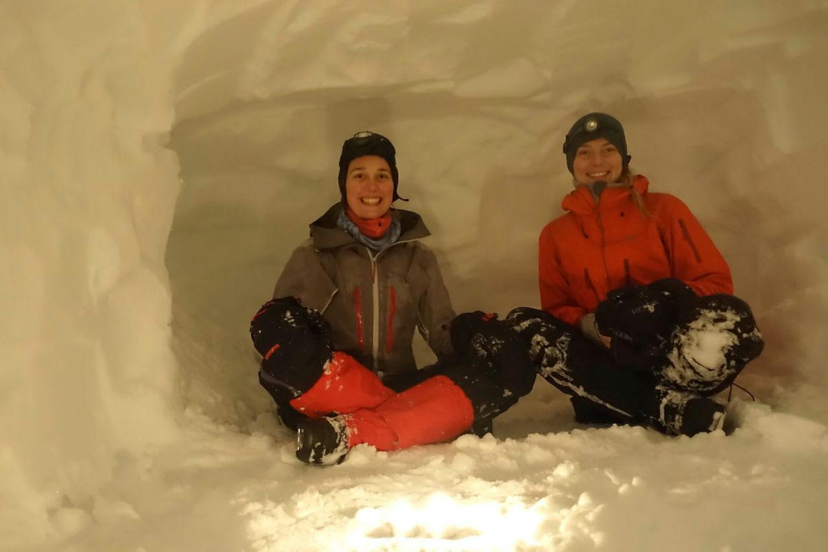 Vinterturlederkurs, kurshelg 1 til Høgabu, 2021.