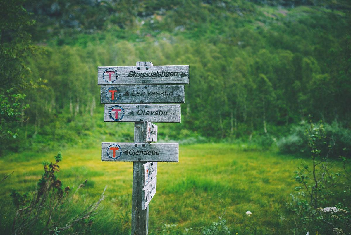 Høst ved Fondsbu  Høst ved Høystakka mellom Fondsbu og Gjendebu