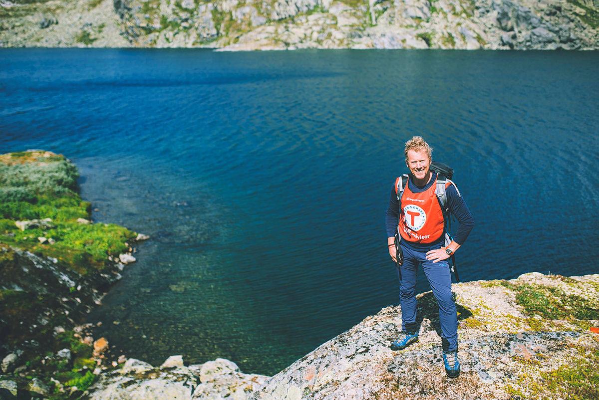 Andre uken av minutt for minutt gikk fem dager gjennom Jotunheimen. Bildet er fra første etappe fra Bøvertun til Sognefjellshytta.
