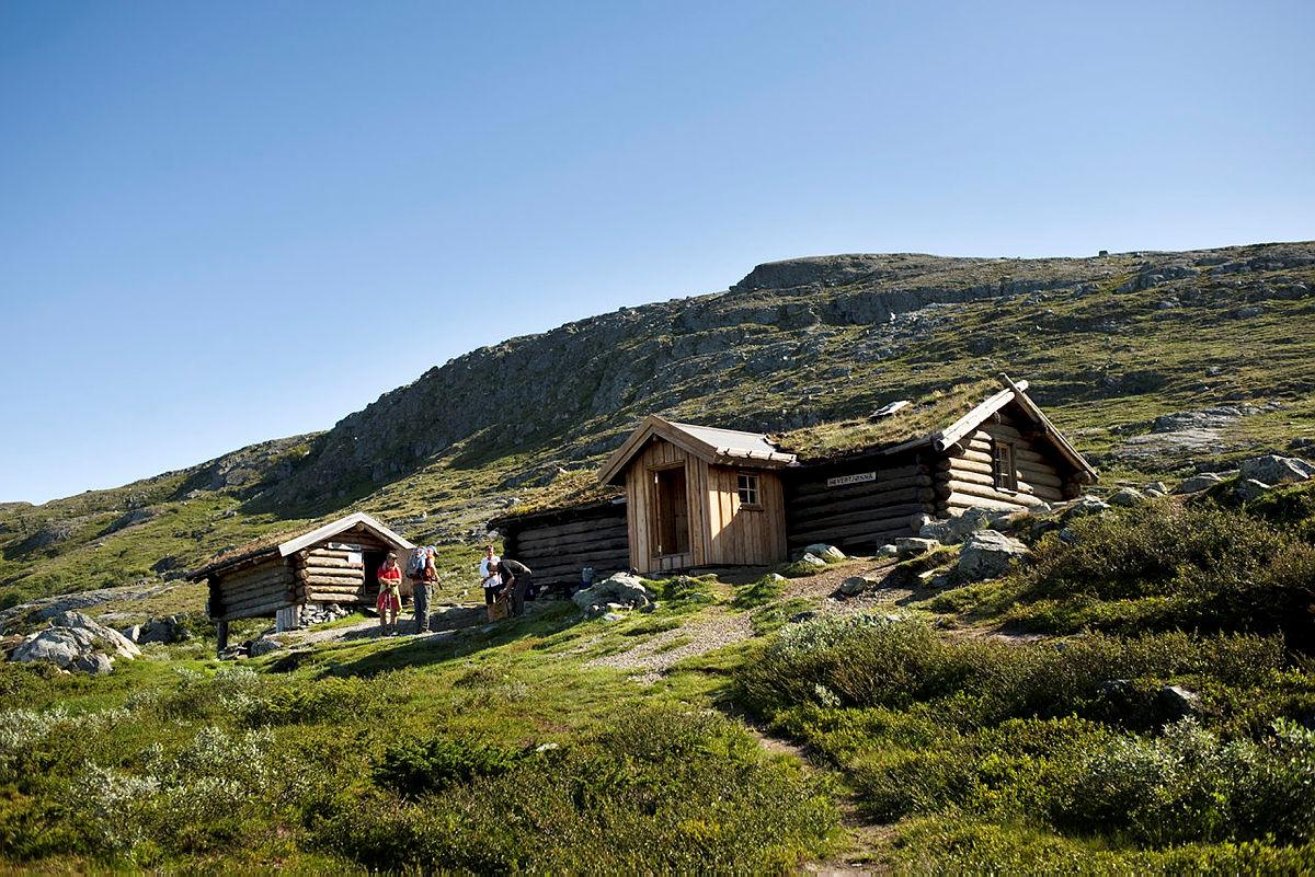 Hytta ved Hevertjønna i Barnas naturverden i Trollheimen er et spennende turmål ikke langt fra Trondheim.