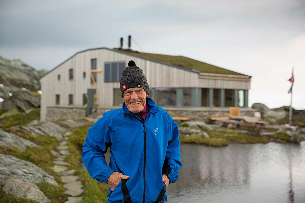 Bjarne Huse og kona Anne-Marit bygde Breidablik gjennom 44 år. Nå tar Bergen og Hordaland Turlag Breidablik inn i en ny tid.