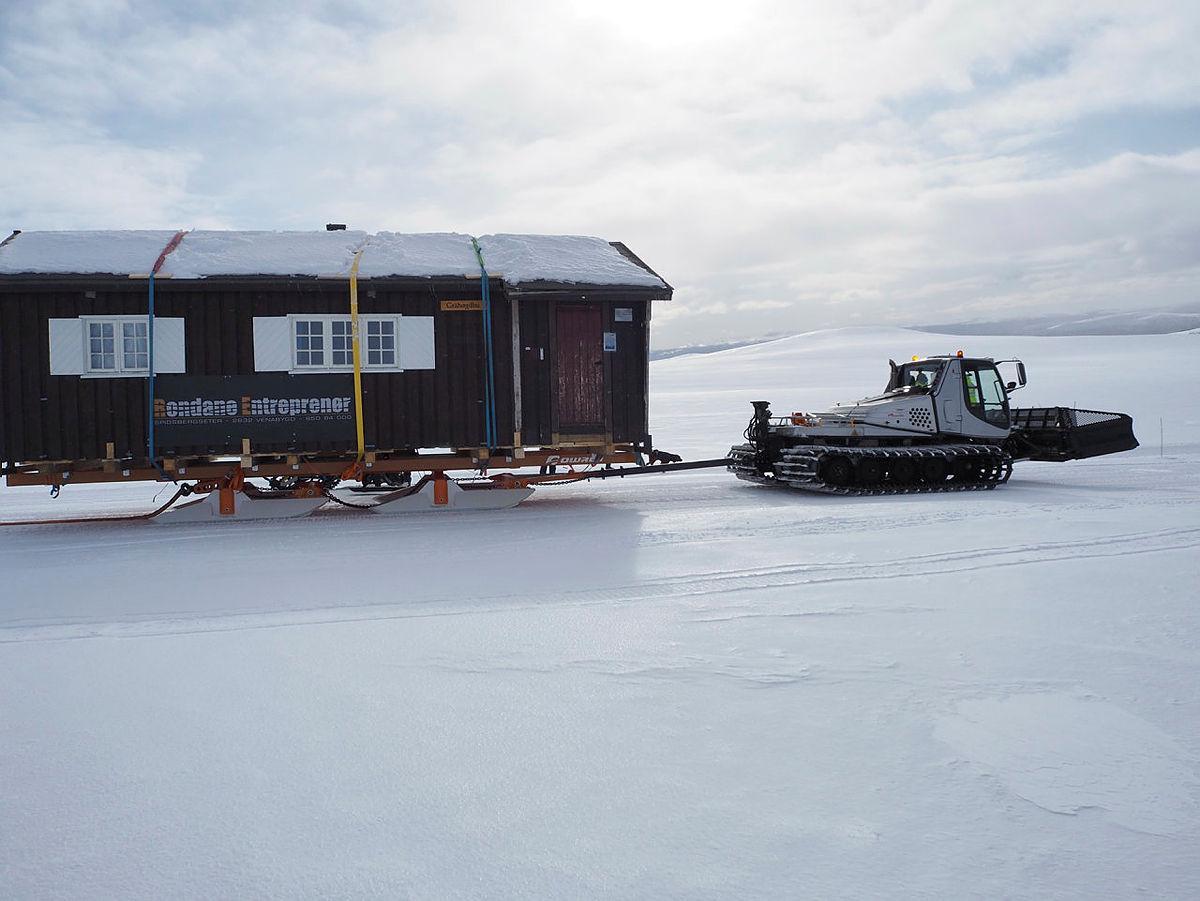 DNT-hytte flyttes til Maihaugen