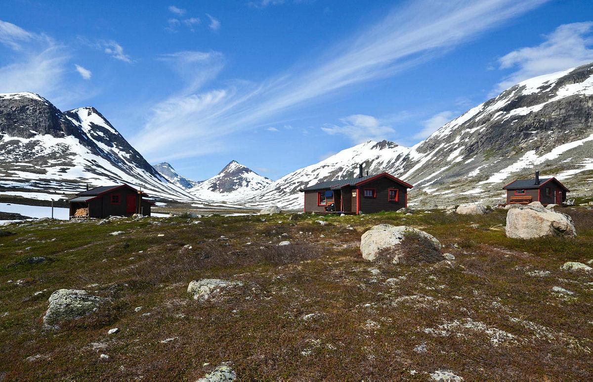 Hunddalshytta i Narvikfjellene byr på spektakulære opplevelser.