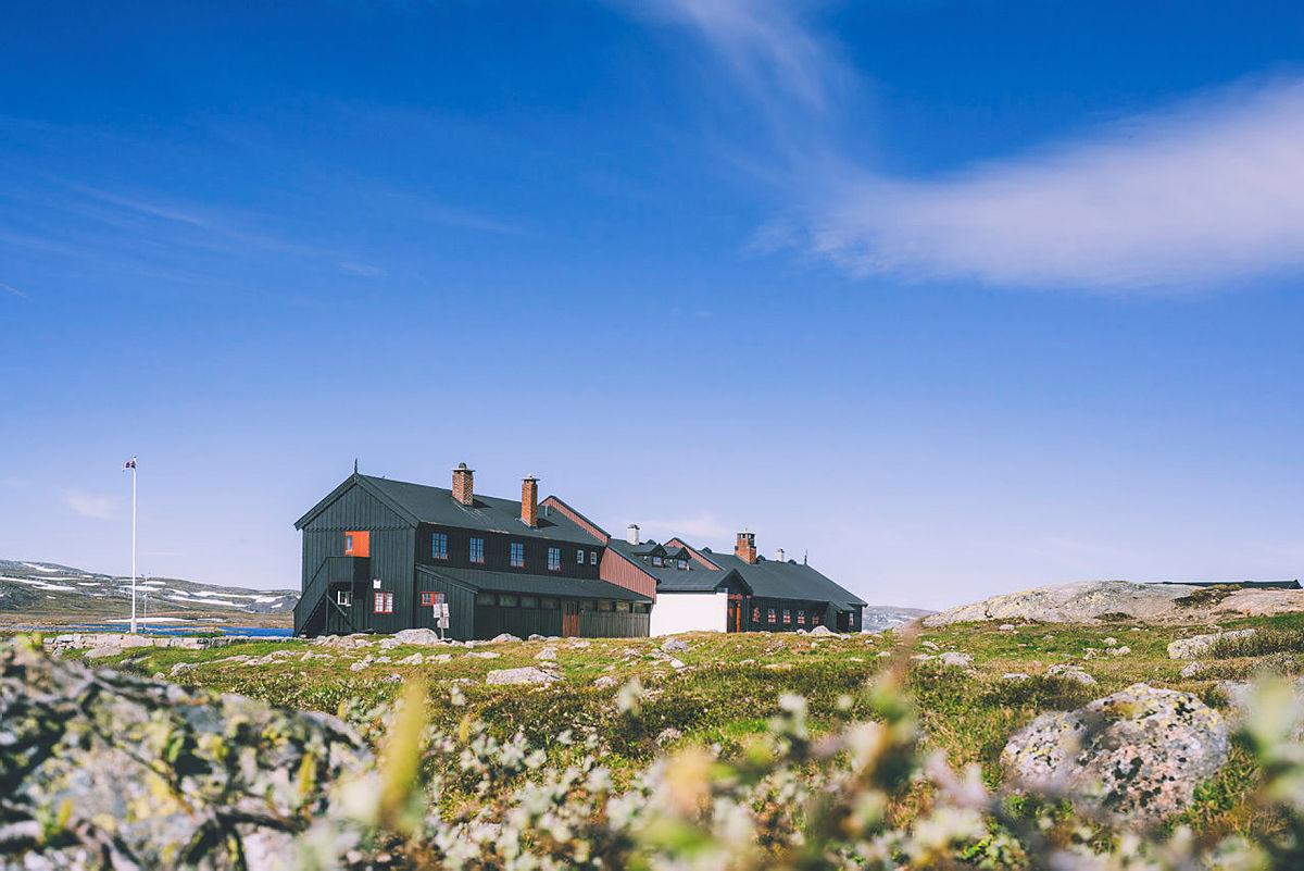 Sandhaug på Hardangervidda