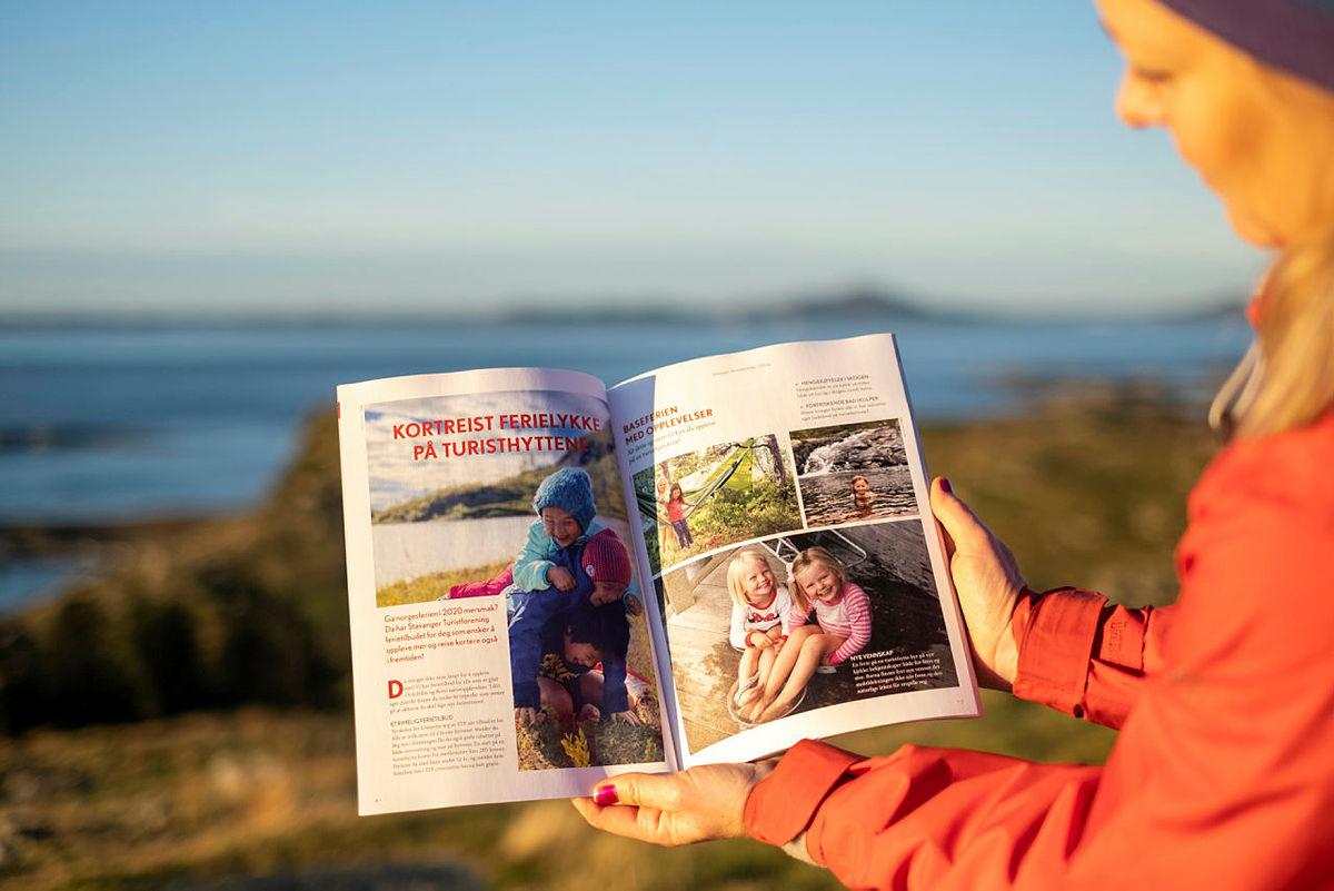 Turglede har smakebiter av neste års turprogram, reportasjer og flere turtips i nærmiljøet.