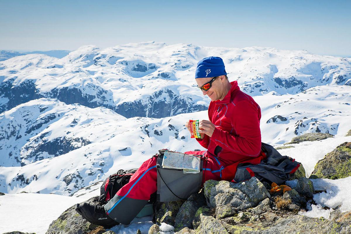 Skitur til Skrott i Kvammafjella, april 2019.