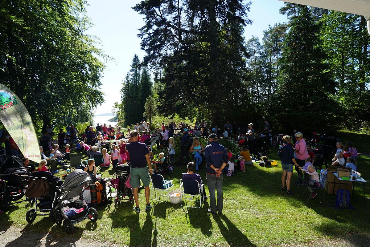 Kom deg ut-dagen medBarnas Turlag Porsgrunn og POT