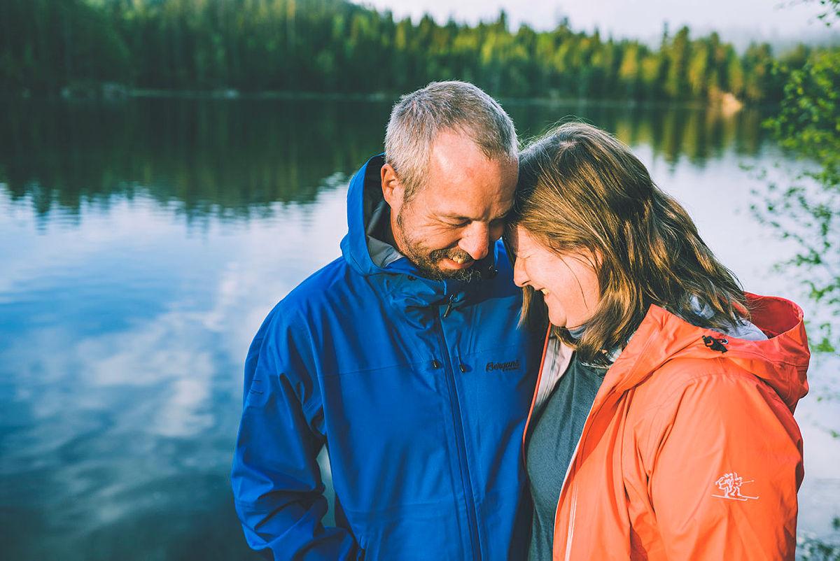 """Siri og Lars til kampanjen """"i naturen er alle velkommen"""""""