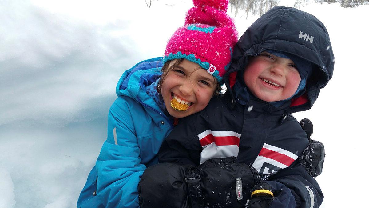 Påskeferie med Barnas Turlag på Alexander Grieghytten 2016