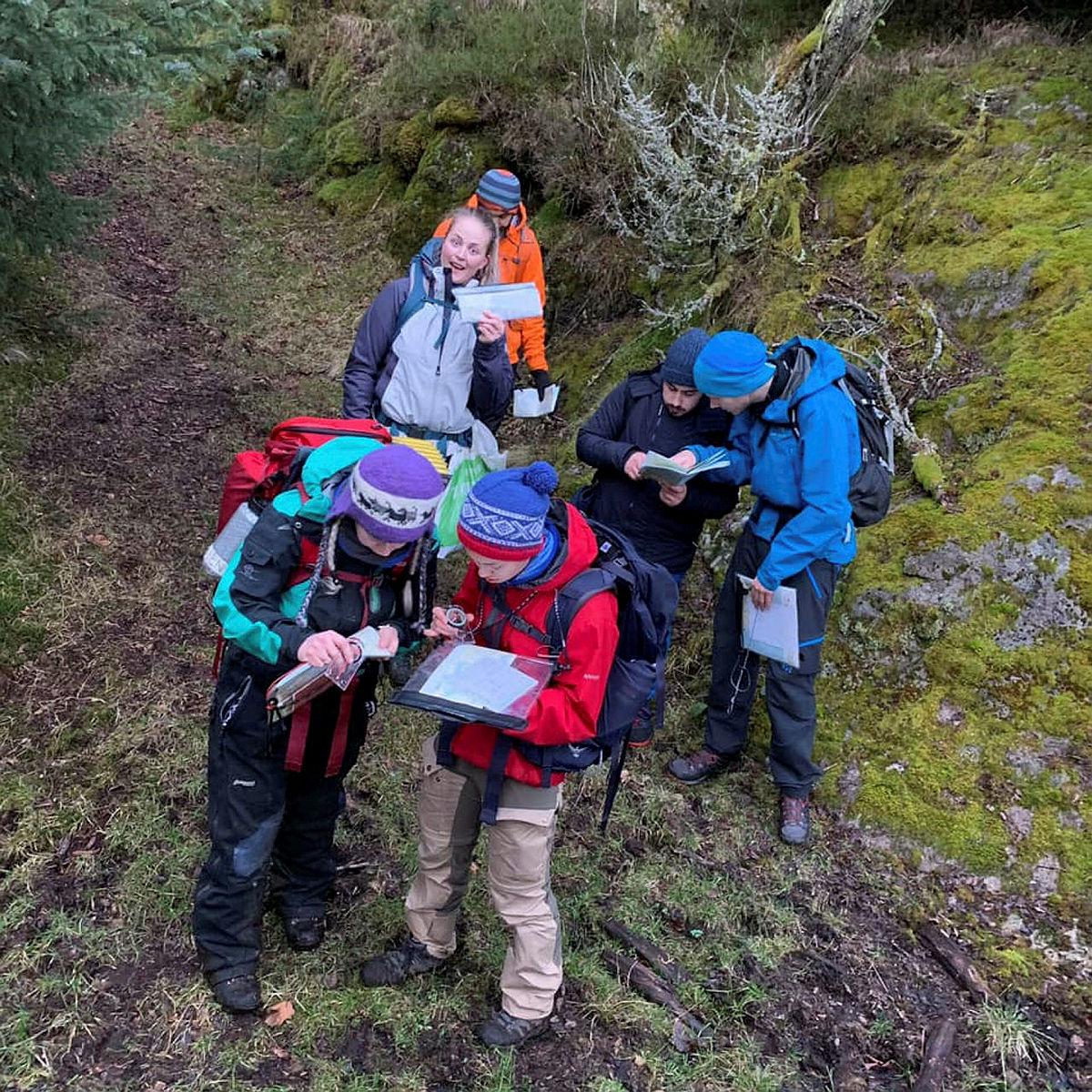 Grunnleggende turlederkurs på Gaudland