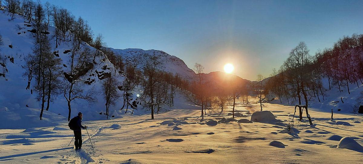 Skitur til Instebotn