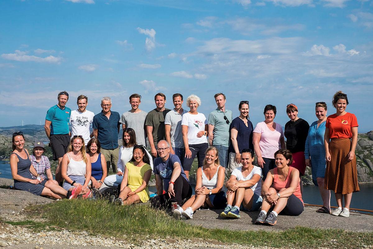 Ansatte i Stavanger Turistforening gleder seg til å ta fatt på et nytt turår med enda bedre utsikter.