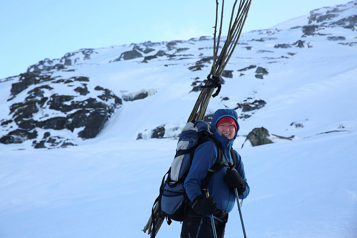 Vintermerkingen på Hardangervidda