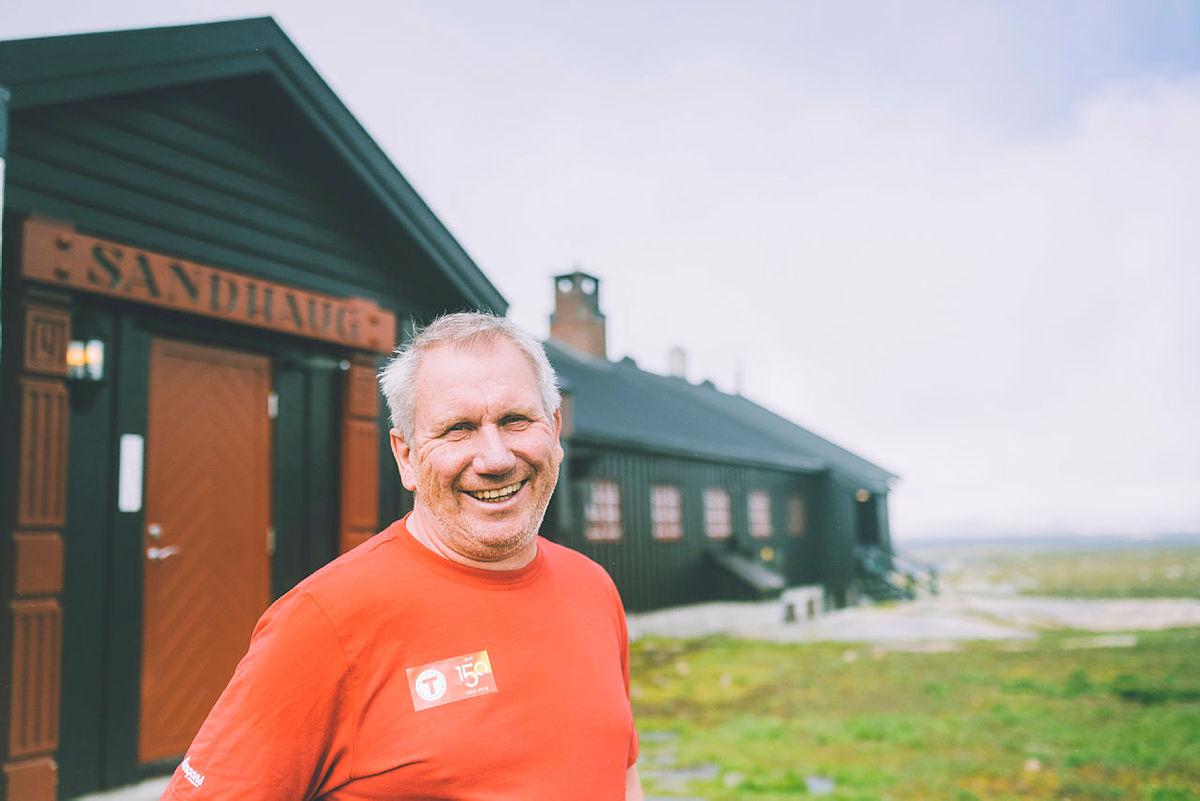 Jan Tyssebotn på Sandhaug, Hardangervidda