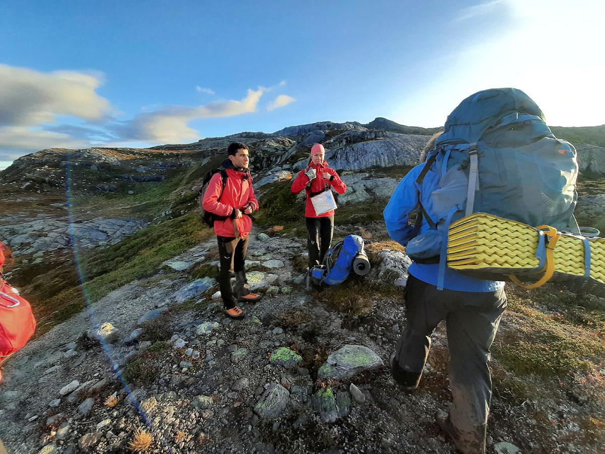Grunnleggande turleiarkurs, 26.-27. september 2020. Fjellsport.