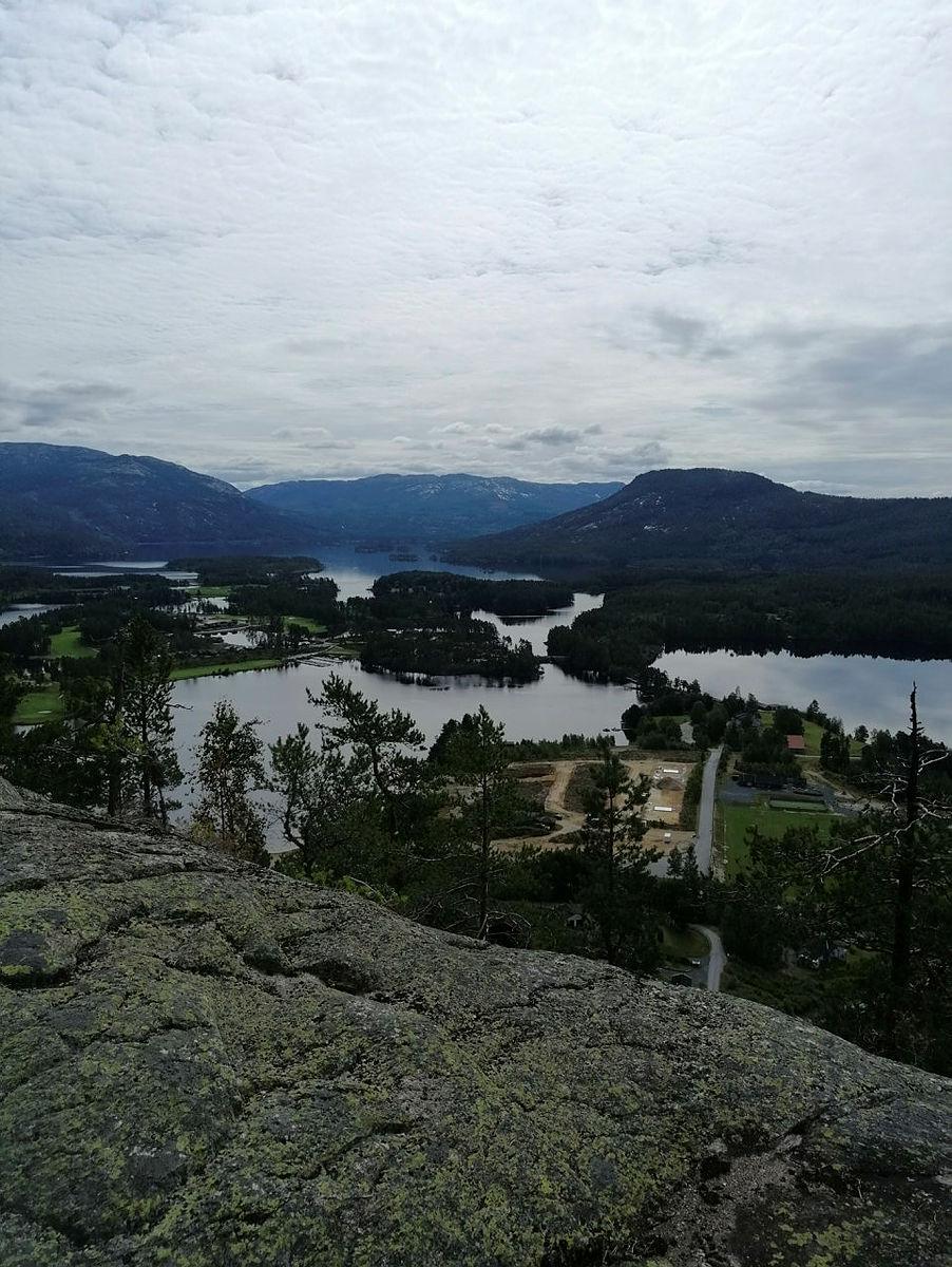 Utsikt fra Austgardsnuten