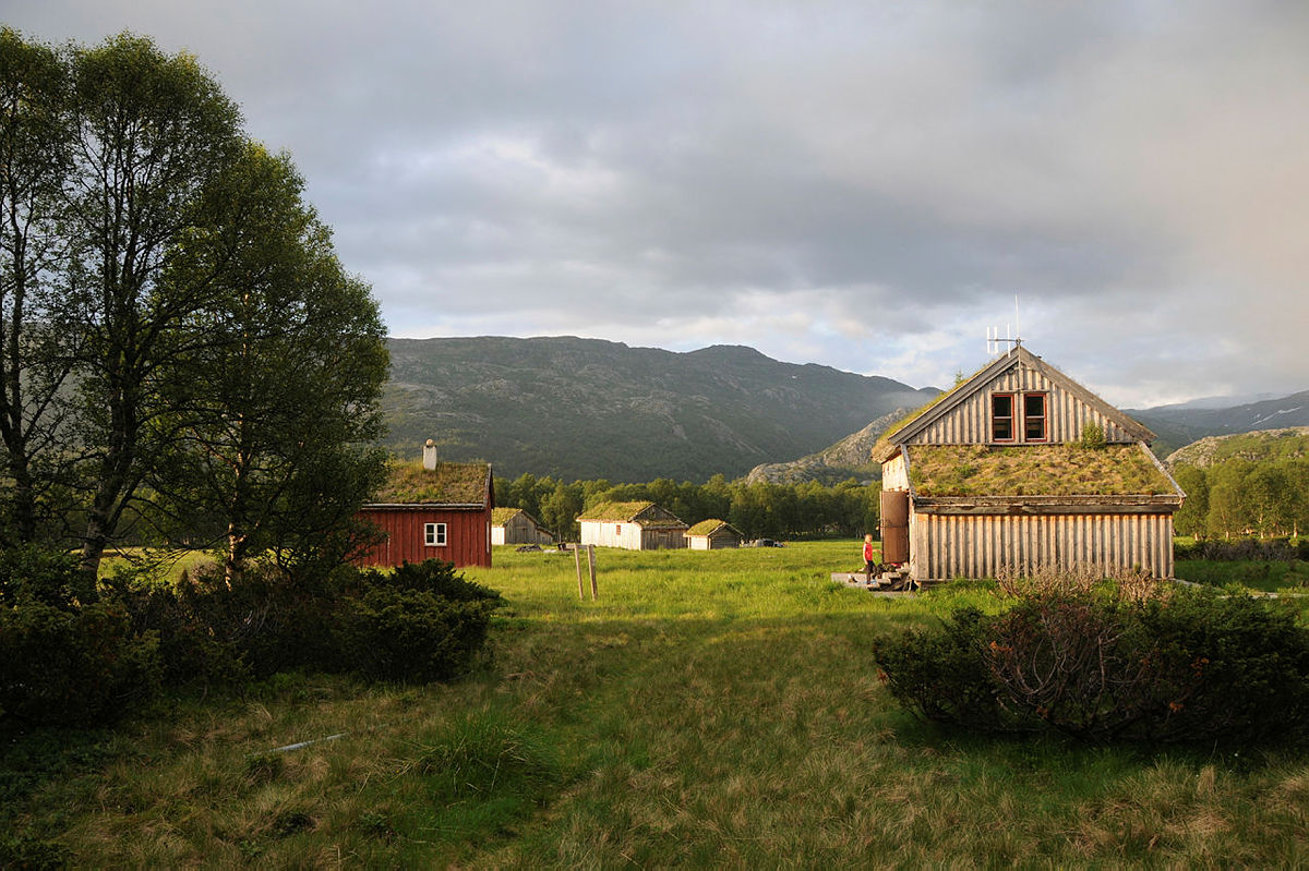 Bleskestadmoen er Stavanger Turistforening sin eldste hytte, og er et sted hvor du virkelig kan finne roen.