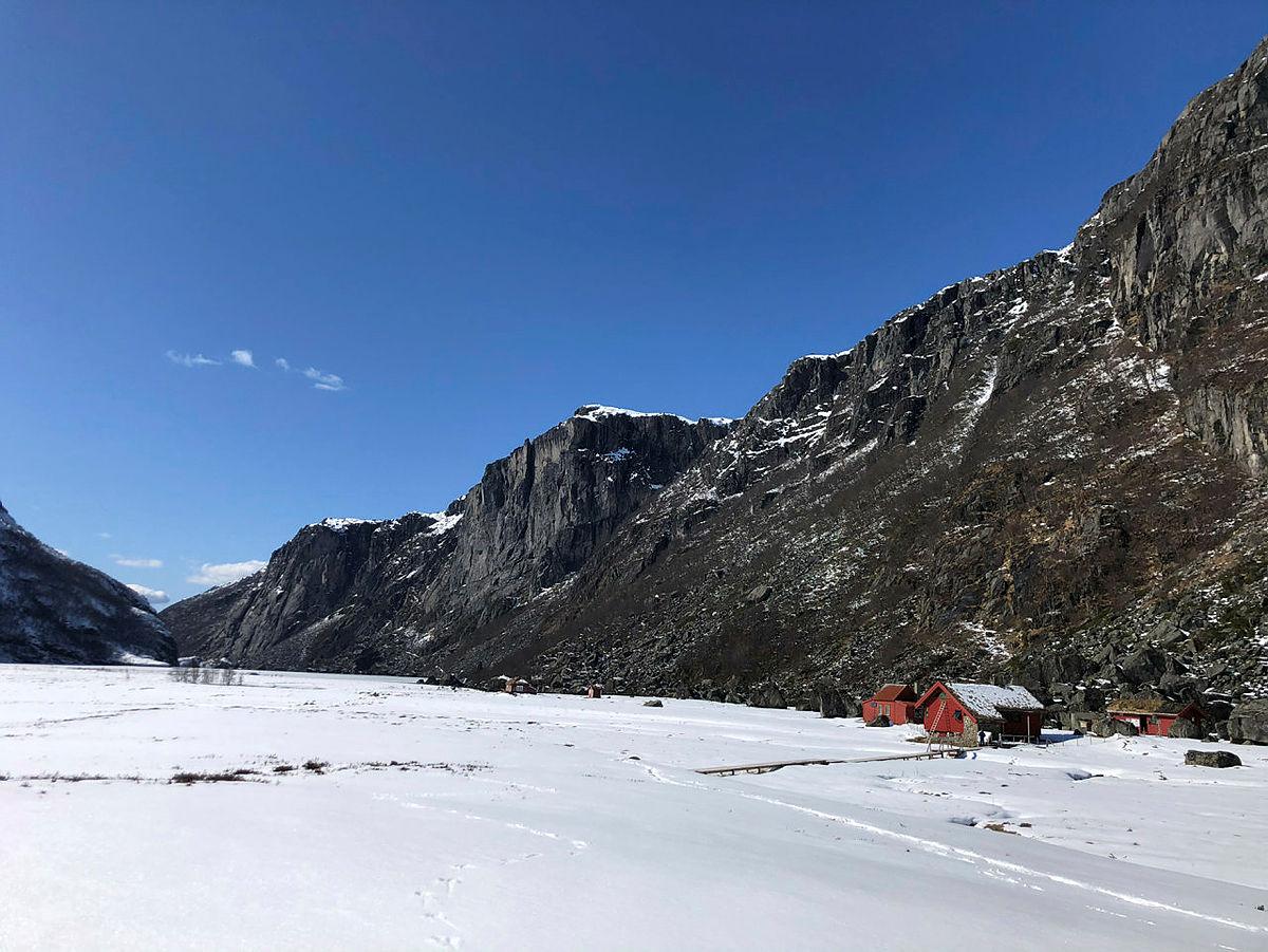 Flotte forhold inn til Viglesdalen og snøen har allerede smeltet bort etter at disse bildene ble tatt!