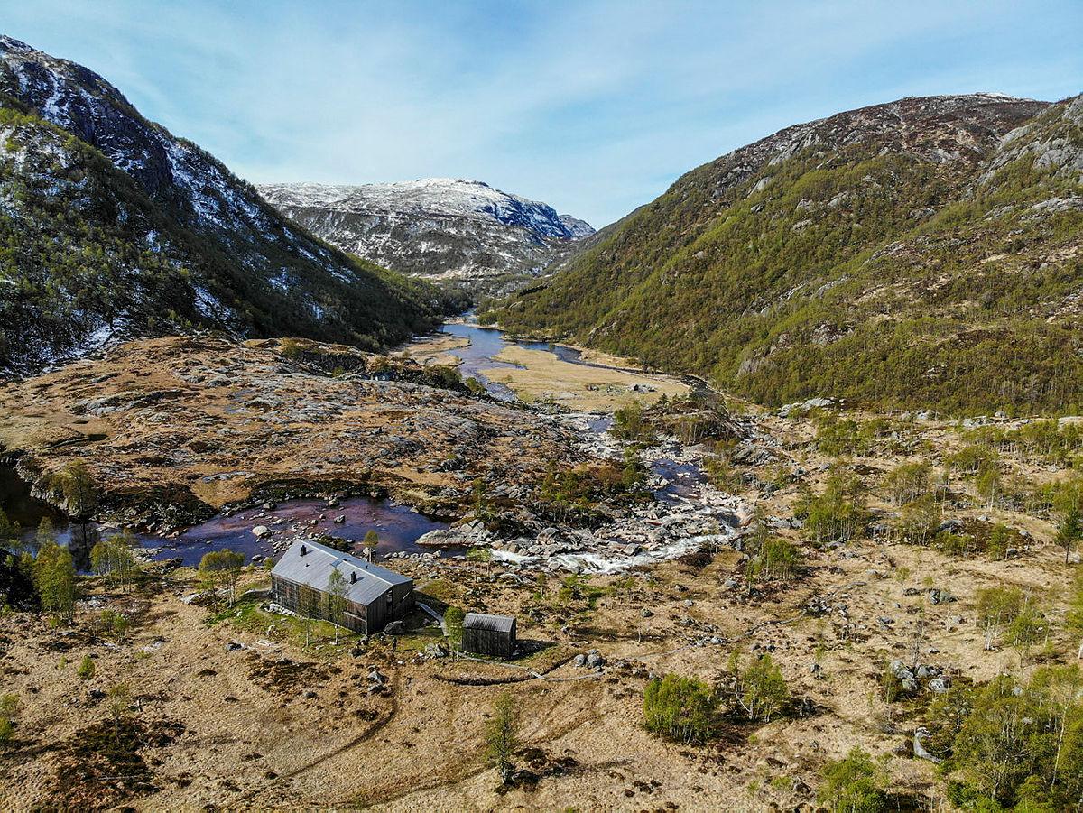 Kvitlen turisthytte i Bjerkreim