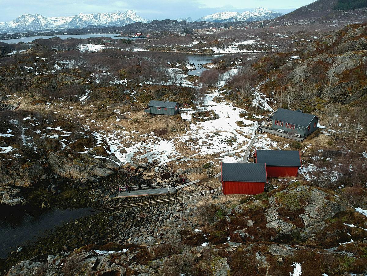 Is og svært glatt ved Guvåghytta