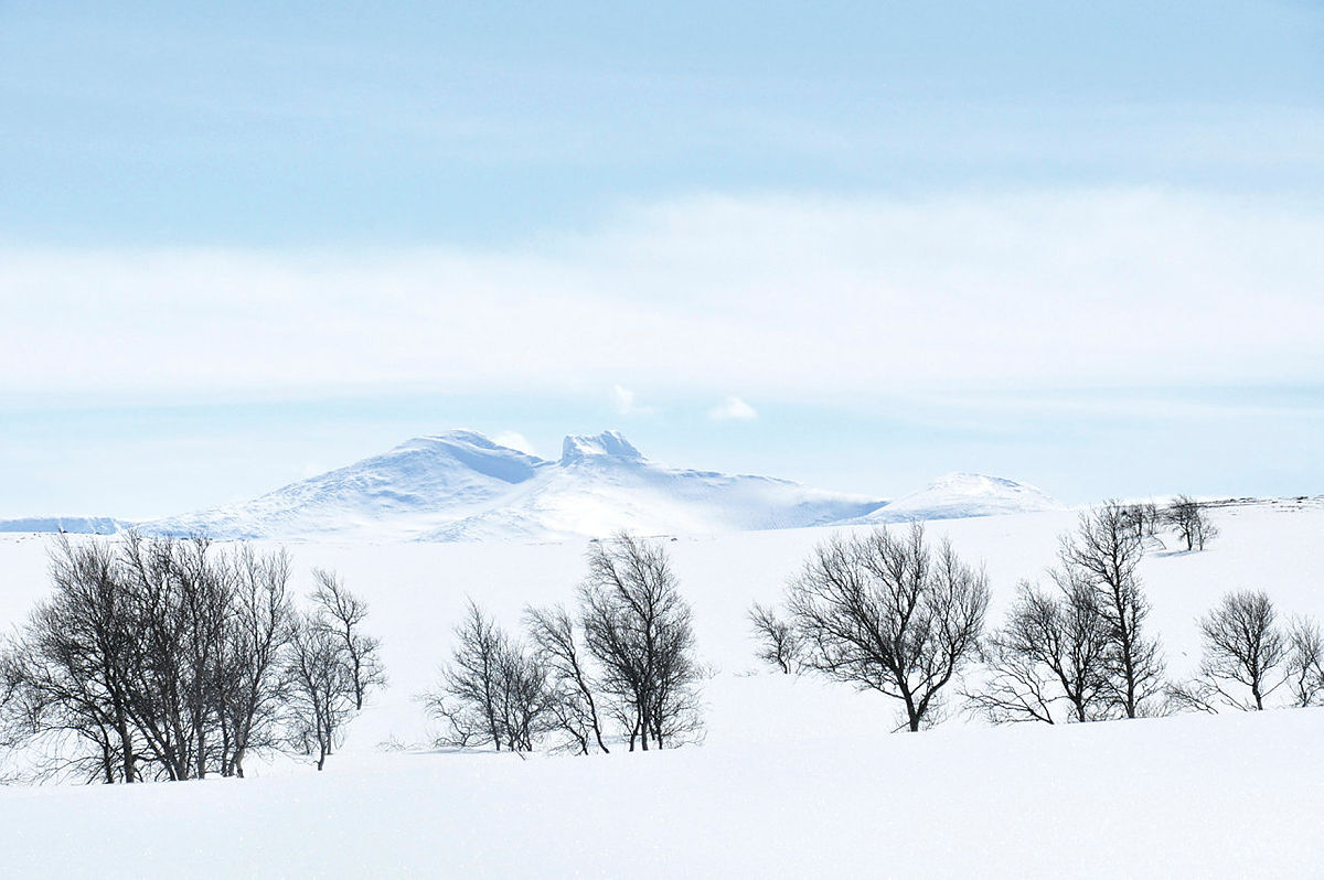 Skitur i Sylan