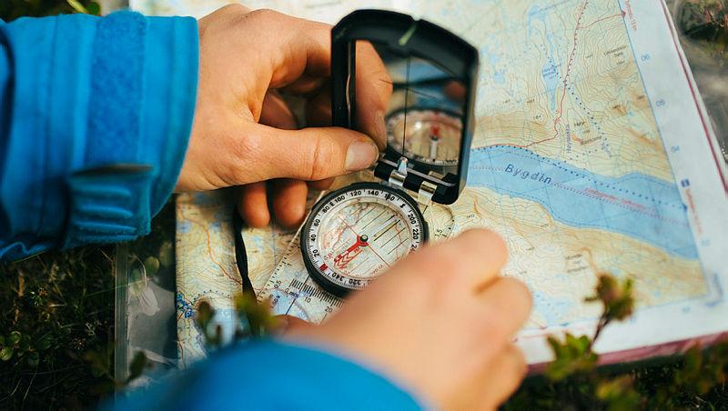 Onlinekurs: Kart og kompass