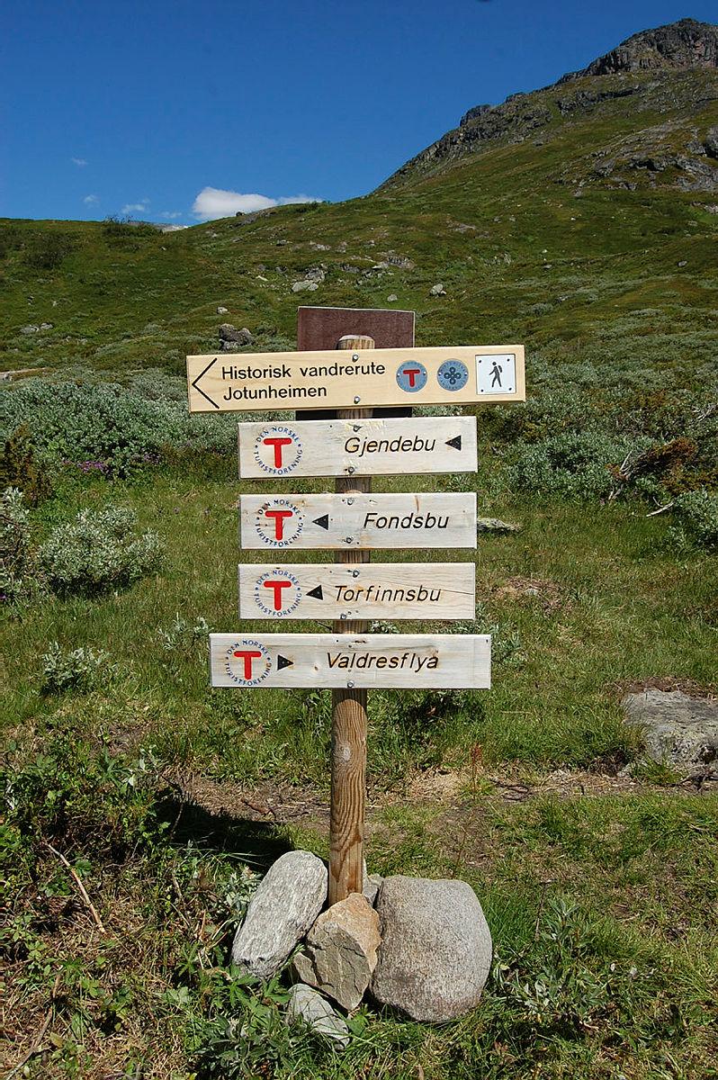 Tur til Torfinnsbu i starten av juli 2018