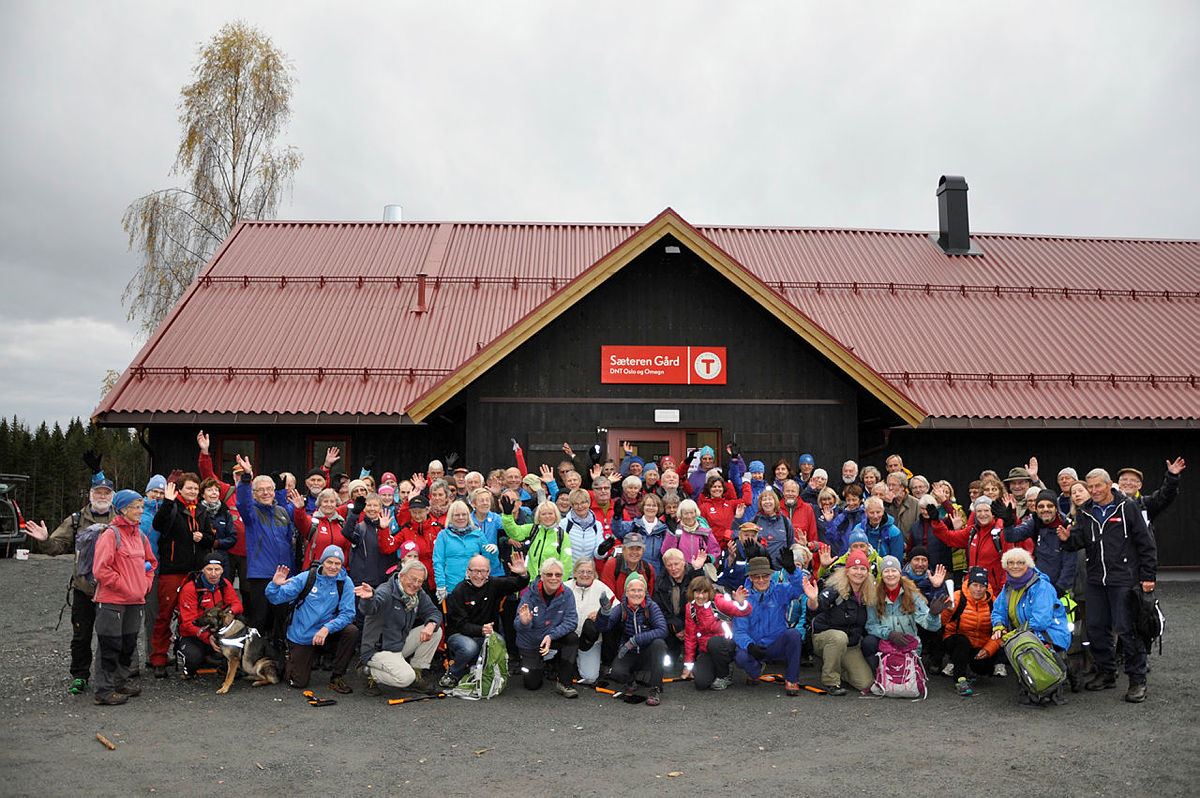 Fest for de frivillige i DNT Oslo og Omegn.