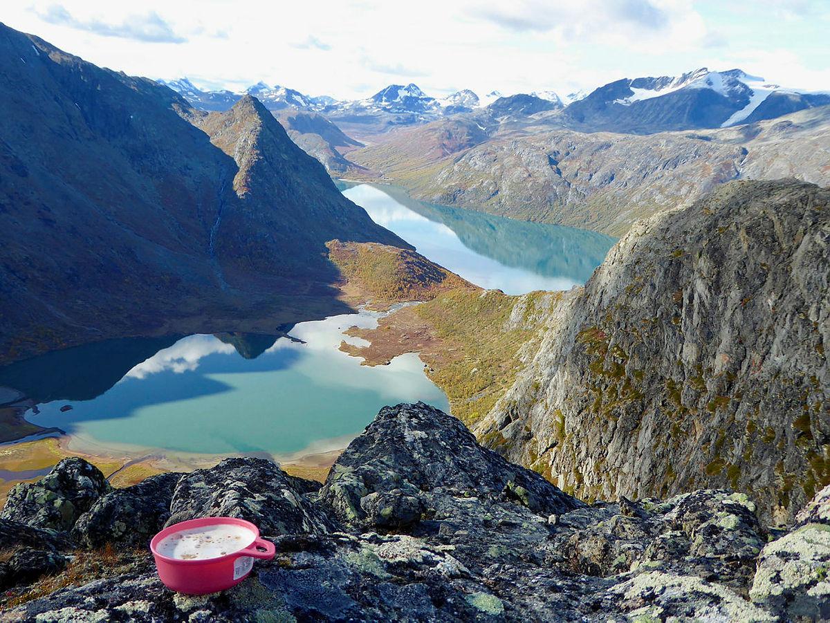 Topptur til Knutshøe