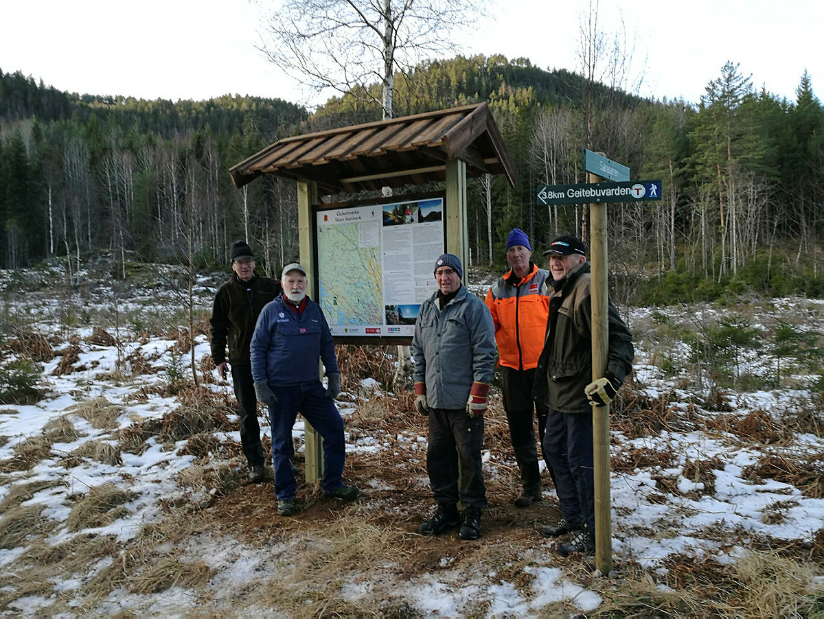 Skien Vestmark - Turskiltprosjektet