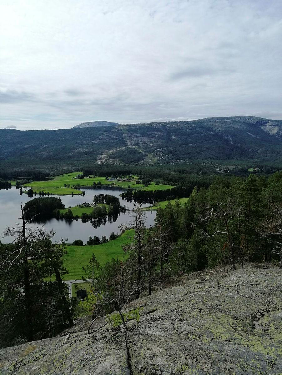 Vakre turområder i nærheten av tur- og aktivitetsområdet.