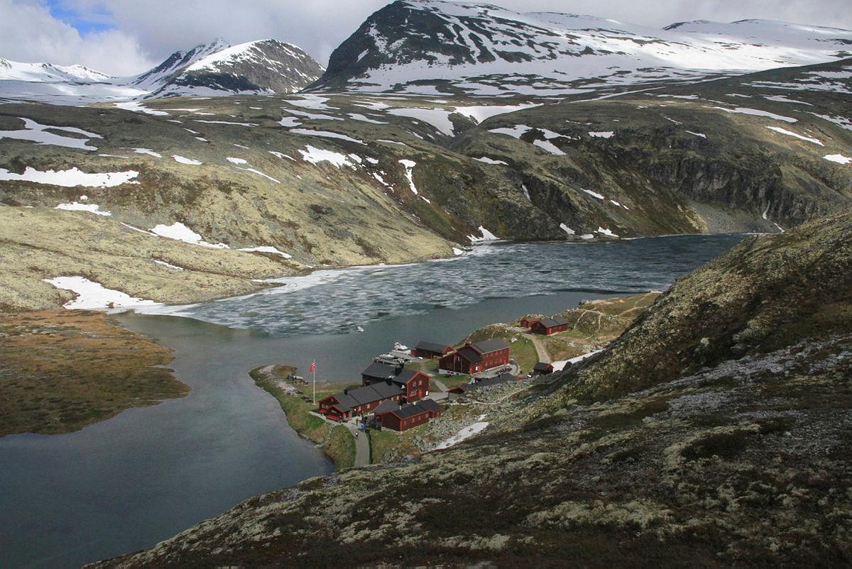Hva er de estetiske trekkene ved naturen når man er i Rondane?