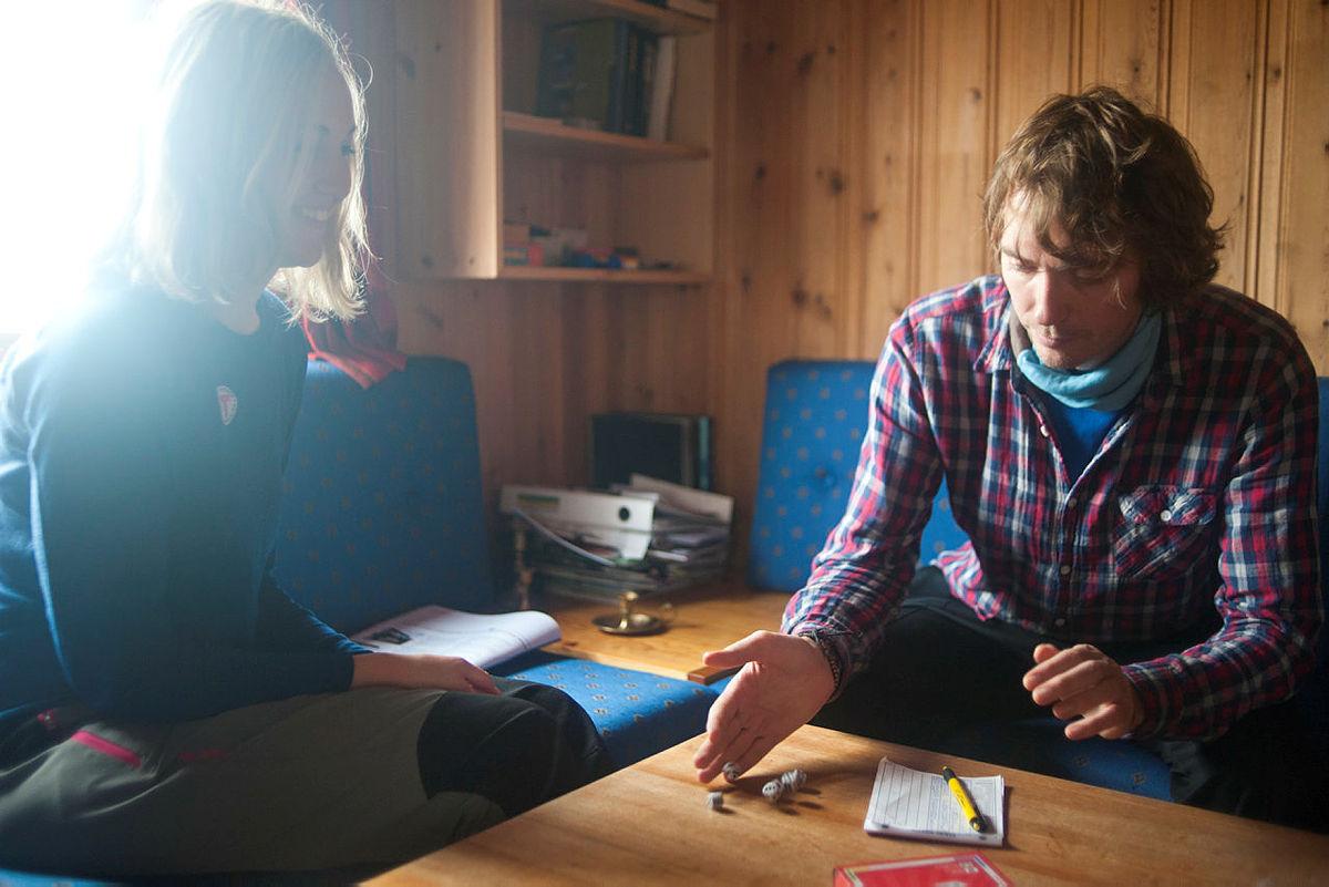 Vennetur til Troms Turlag sin ubetjente hytte Ringvassbu på Ringvassøya.