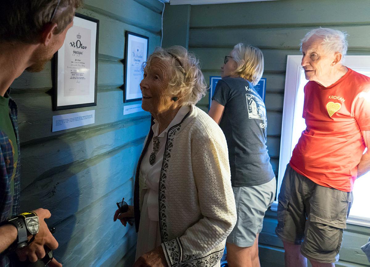 Utstillingen om Claus Helberg inne på Krokan turisthytte er en smakebit fra Norsk Industriarbeidermuseum.