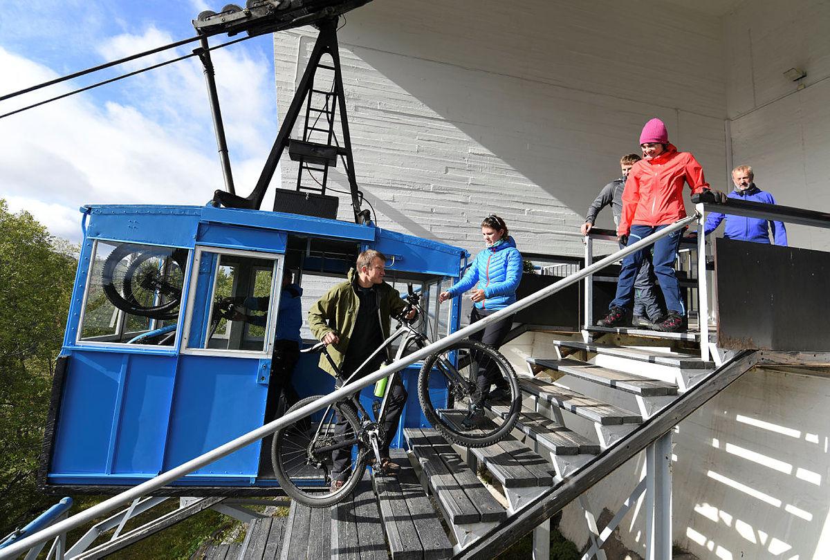 Sykkeltur Rjukan-Kalhovd-Atrå-Rjukan