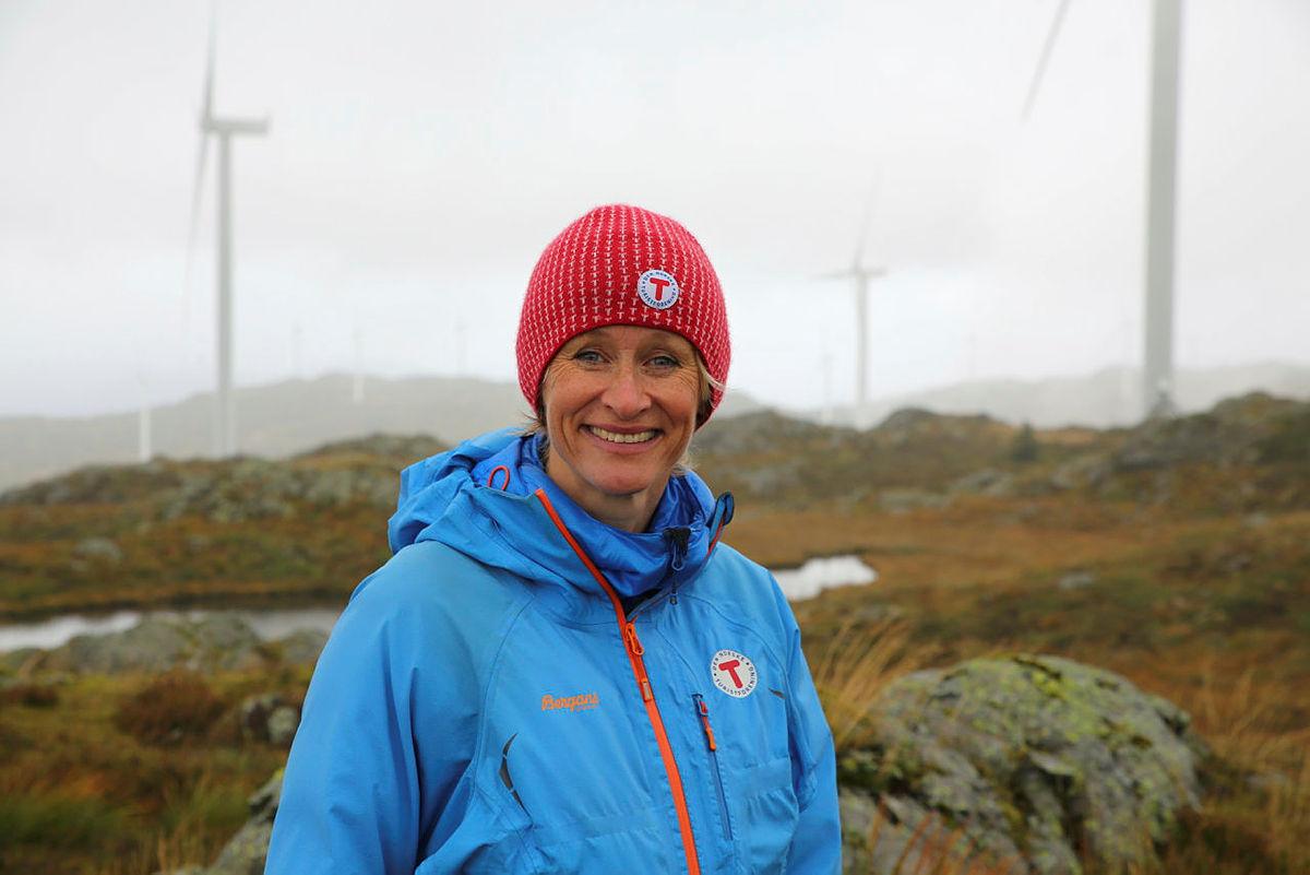 Helene Ødven er glad for at kommunepolitikerne fremover får mer å si i vindkraftsakene.