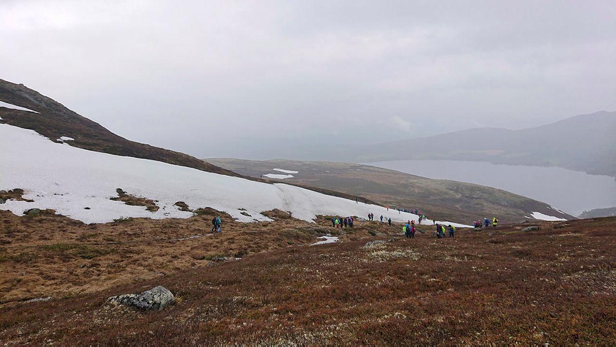 Over 100 elever fra Otta, Heidal og Vågå skuler deltok på årets Opptur ved Lemonsjøen.