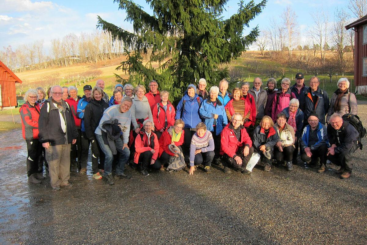 Turgruppa Ut på tur Lier på juleavslutning Lier Bygdetun