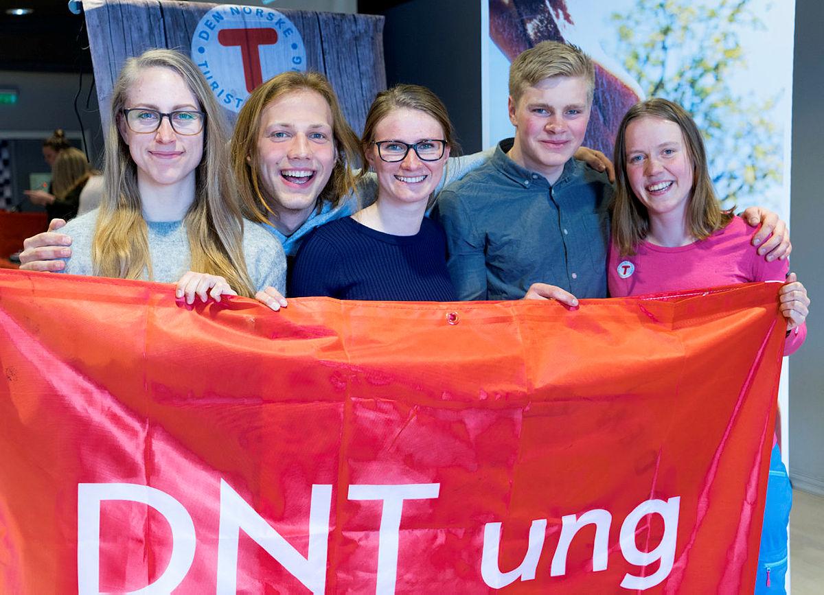 DNT ung landsmøte 2018 i Drammen.