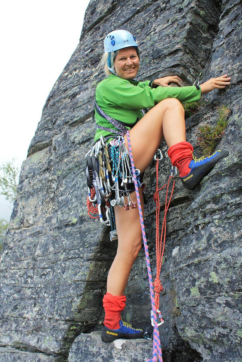 klatrekurs i Innerdalen med Kristin Krohn Devold