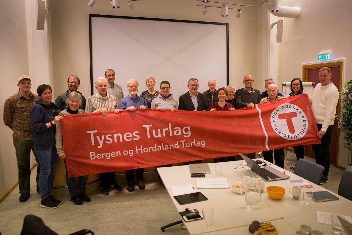 Stiftelsesmøte Tysnes Turlag, 18. februar 2020, i Uggdal, Tysnes.