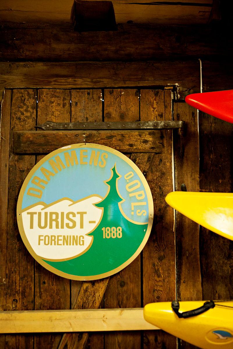 Kajakker i Gyldenløve Kajakklubbs lokale